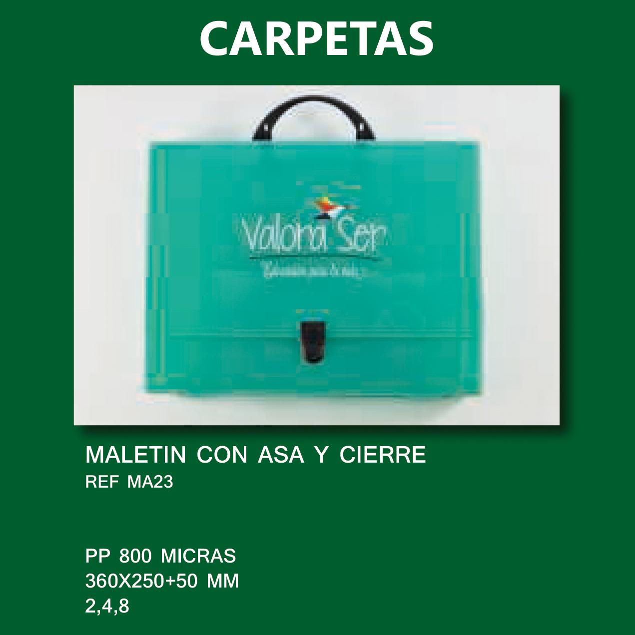 Carpetas plástico documentos publicidad CONGRESOS