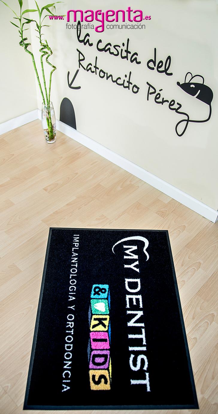 Alfombras publicitarias, personalización de alfombras, alfombras con su logo