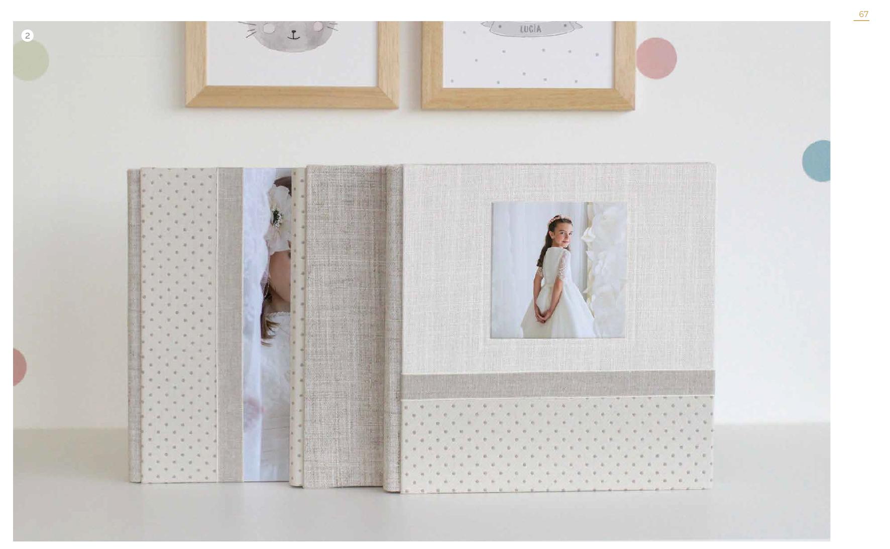Albumes  fotográficos comunión colección 2018