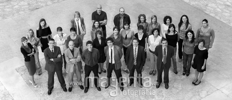 Grupo humano de DNS consulting Mallorca, fotografía para empresas mallorca, foto empresas mallorca,
