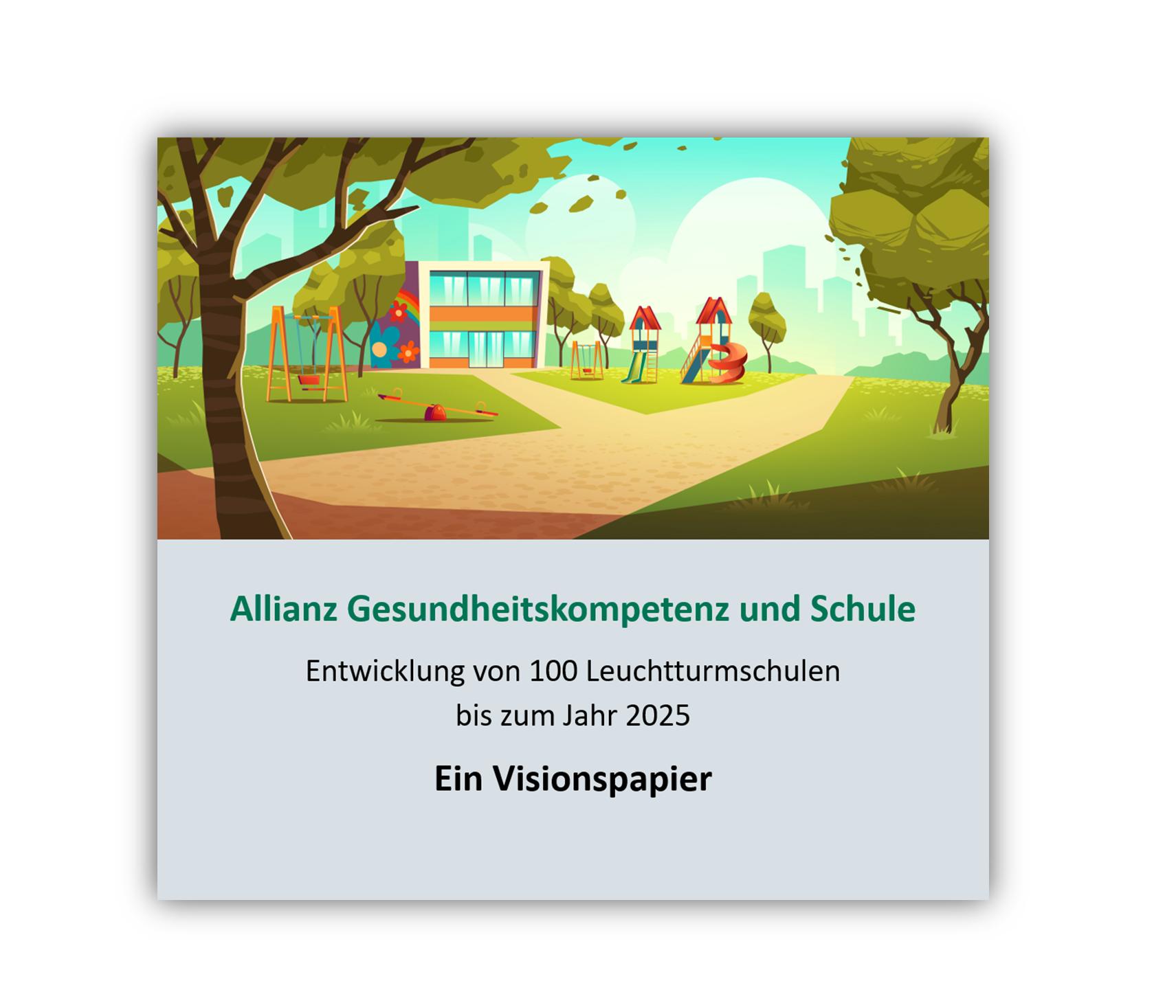 Visionspapier Allianz Gesundheitskompetenz und Schule
