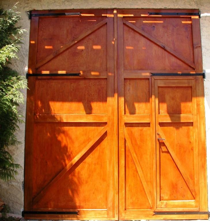 """La porte de """"La tuile à Loup"""""""
