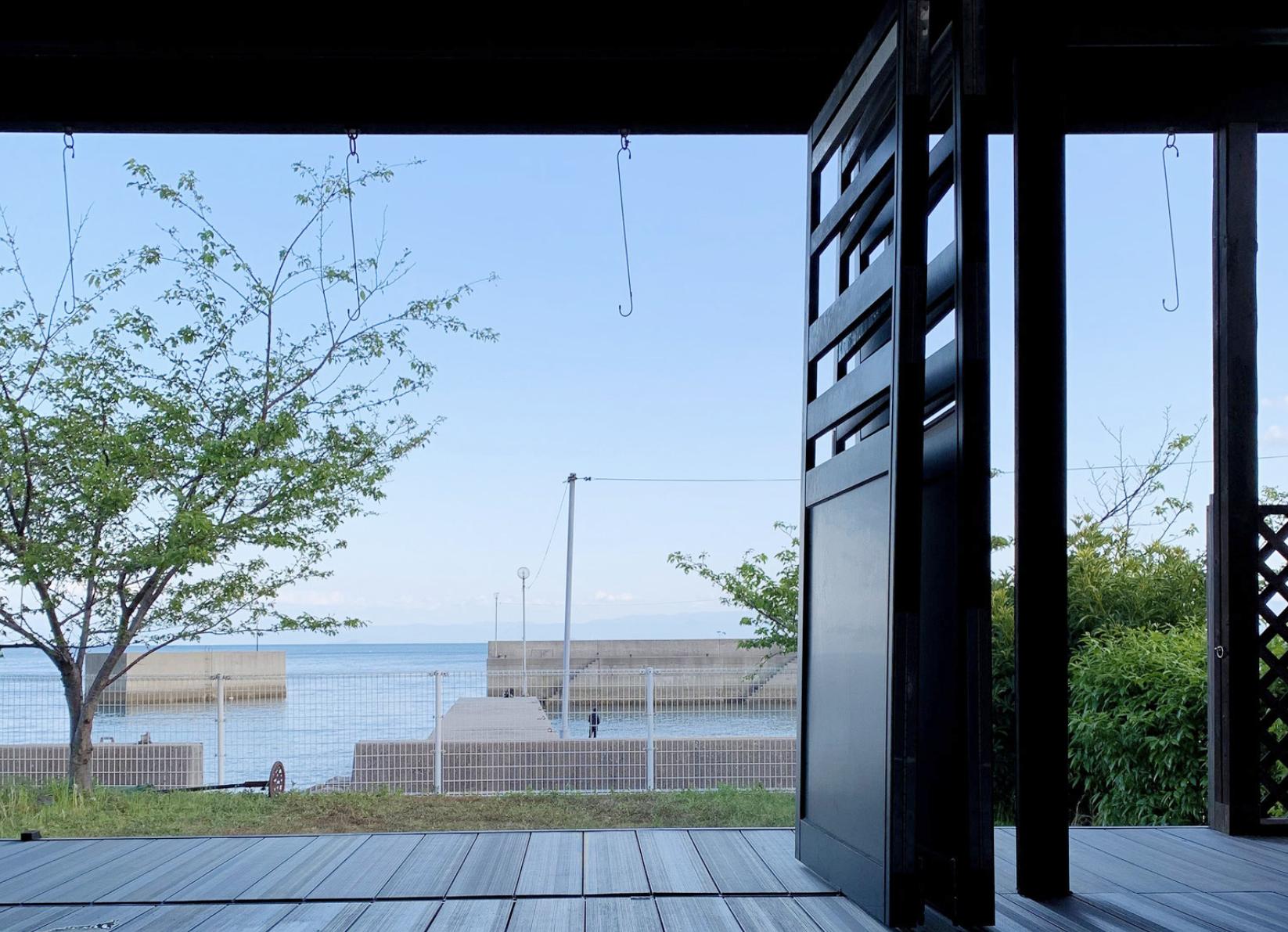 内海の別荘