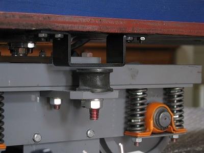 ローリングストッパ(側受け)隙間1.5mm標準