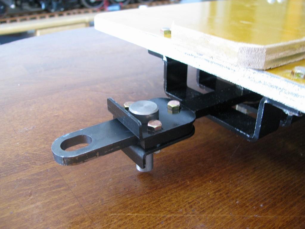 オリジナル連結器・セルフセンタ機構・押時使用の時折曲がり防止機構内蔵