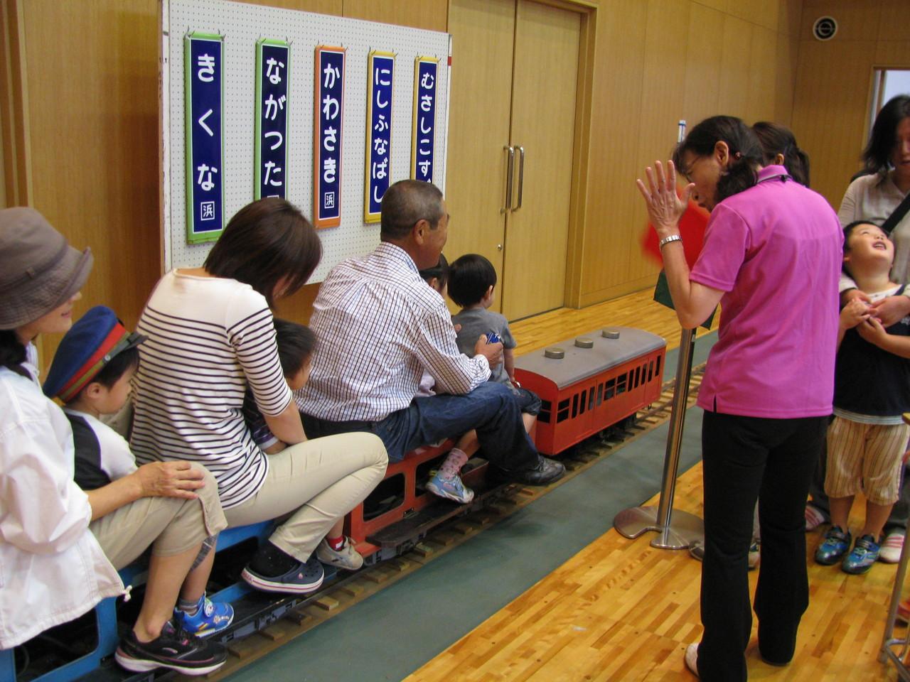 地方行政のミニ鉄道祭り