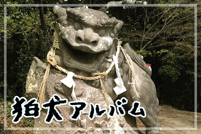 「狛犬アルバム」へのリンク画像