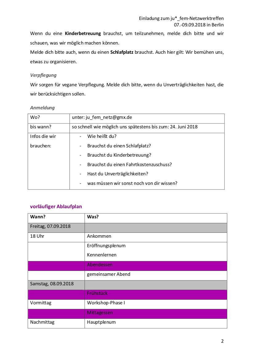 Einladung Seite 2