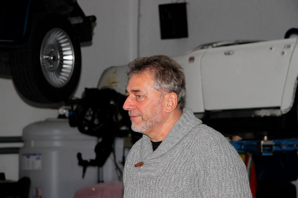 Bernd Roscher sucht gerade vergeblich seinen Kallista: ist in Werkstatt Viesen!