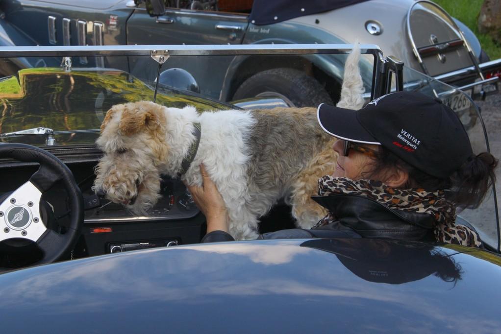 Hund und Gattin vom RACER