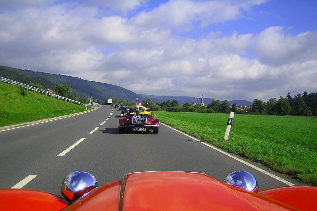 die Schönwetterphase von Overath nach Klingenberg muss ich wohl verschlafen haben!