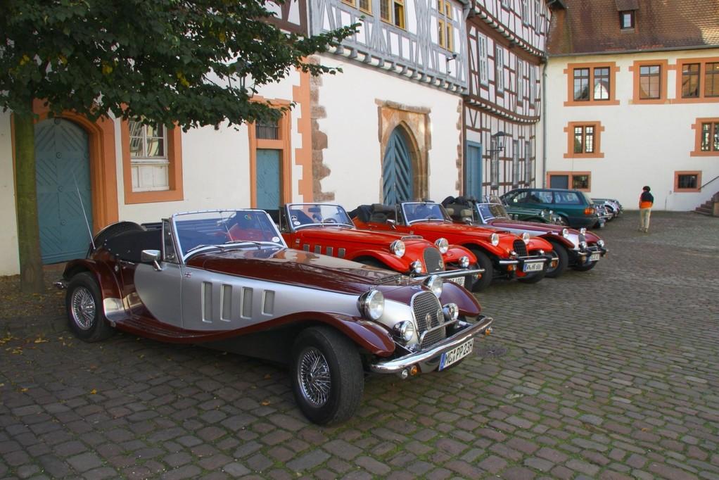 Parkplatz im Innenhof