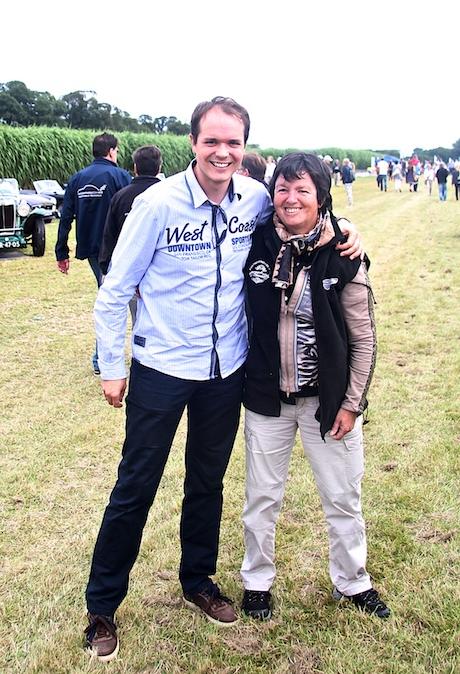 """Tolles Team: Barbara mit Nesthäckchen (Sohn)"""" Dirk""""aus der Eifel!"""