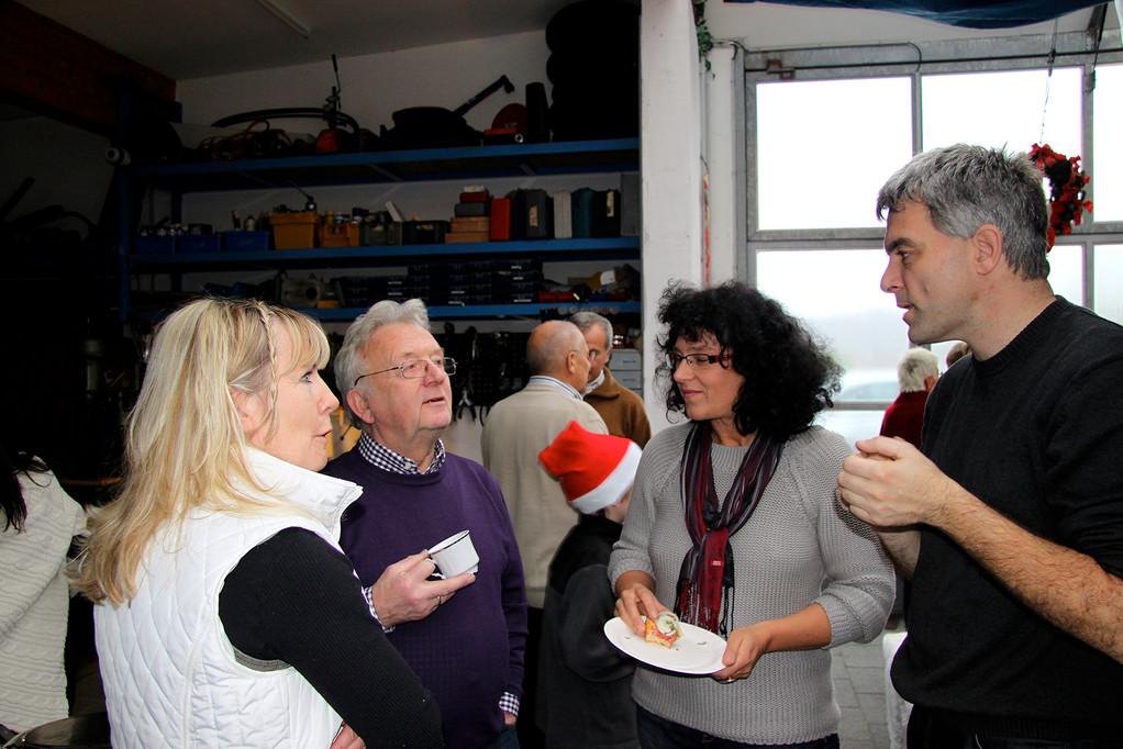 Nordwestliches Spontantreffen: Rita & Hans Reif begrüßen Steffie & Arno