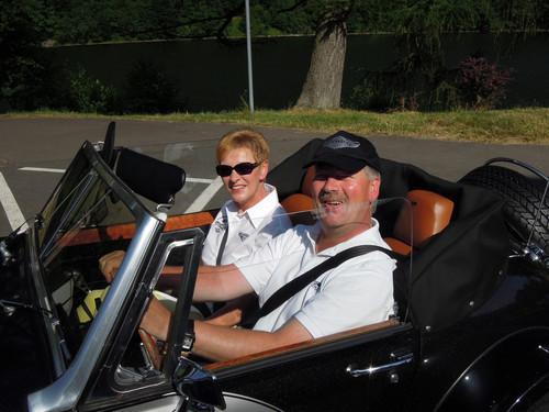 Ulrike & Michael .......hier mal ohne Regen !