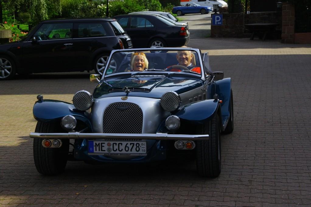 Freude am Pantherfahren kann man nicht schöner zeigen!