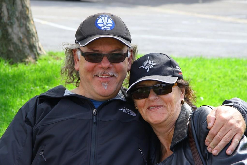 welch ein Paar: Ilona und Günter