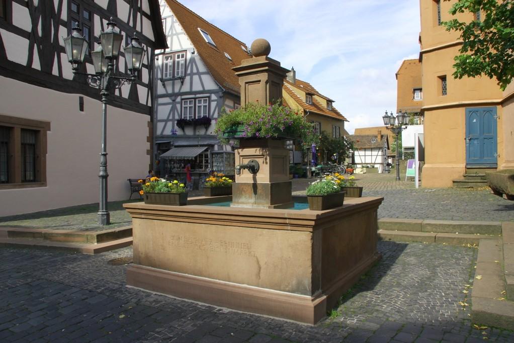 Badeanstallt in Michelsstadt