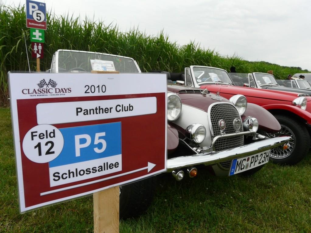P5 Parkplatz Panther