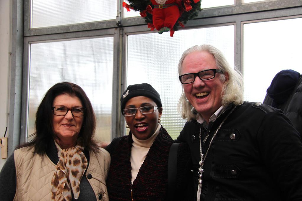 Ilona begrüßt Susann & Norbert Tielkes...Pantherfahrer seit über 20 Jahren aus Erftstadt!