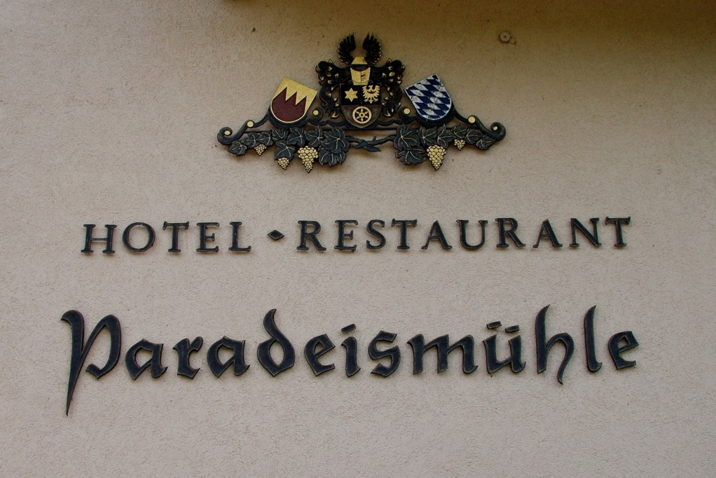 Hotelbeschriftung