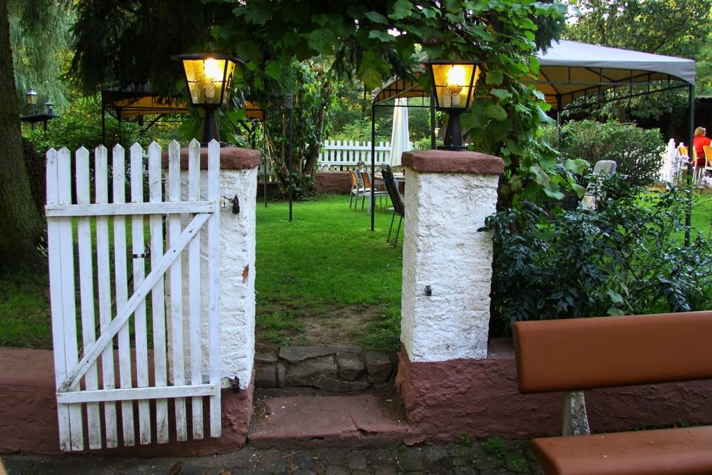 Zugang zum Weingarten