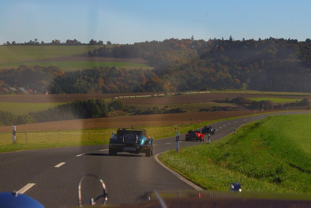 Richtung Monreal.....auf Nebenstrassen.......wunderschöne Routen!