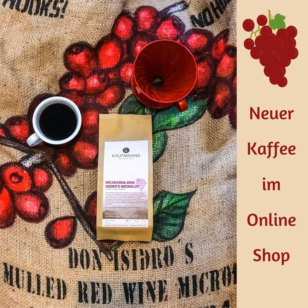 KAUFMANNS Kaffee Nicaragua Don Isidro's Microlot