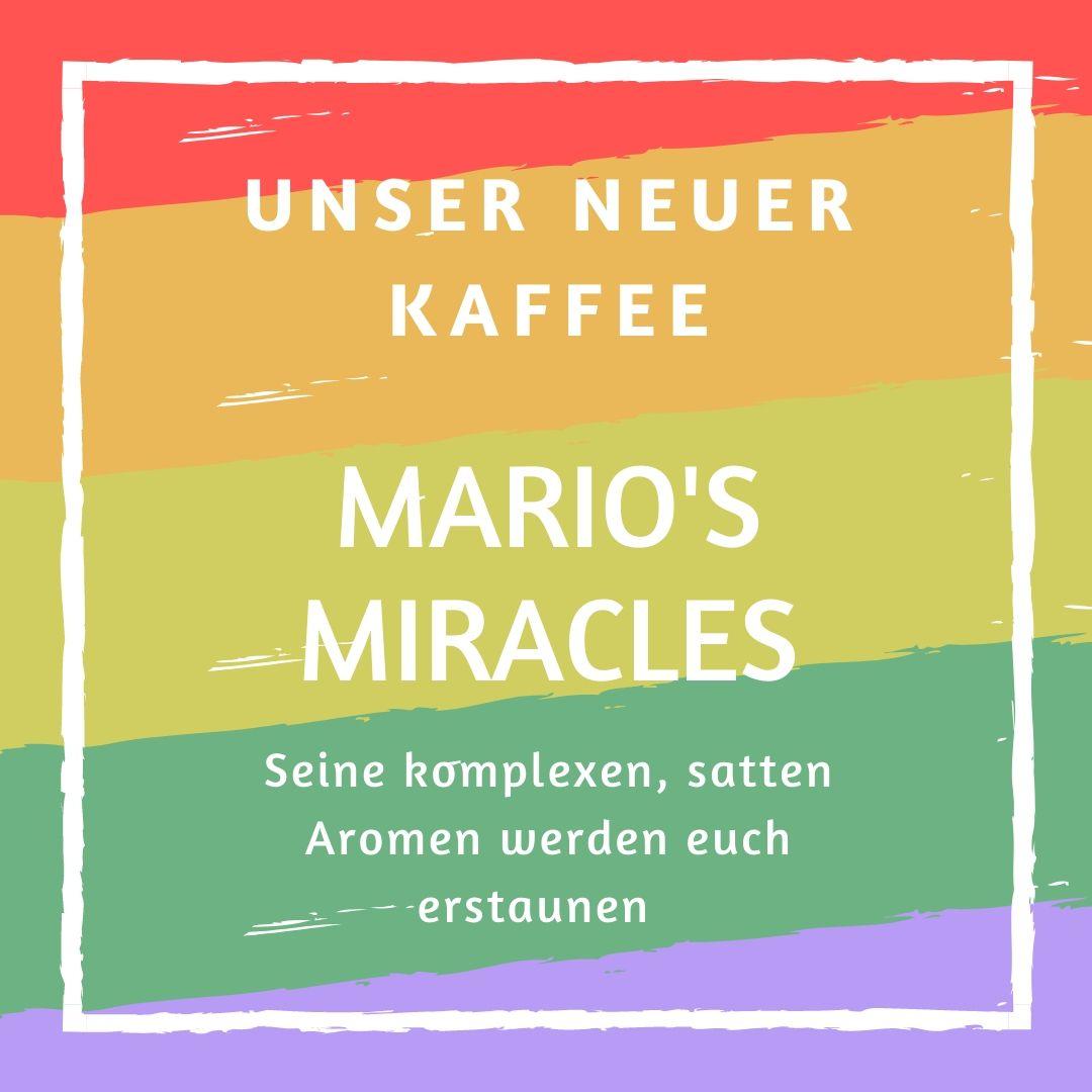 KAUFMANNS Kaffee Nicaragua Mario's Miracles.
