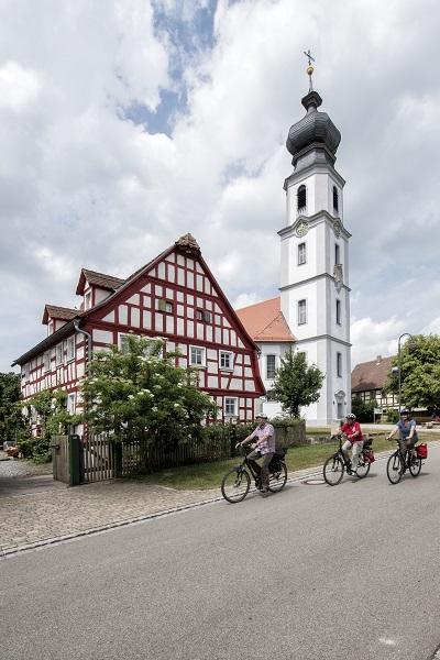 Radfahren in der Tourismusregion Romantisches Franken ©_ROM_F_Trykowski