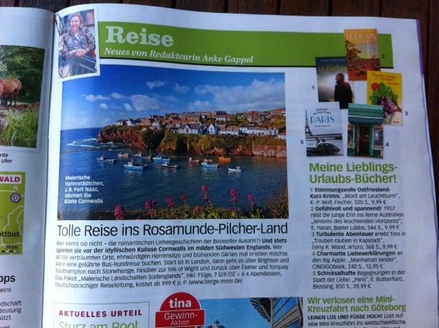 Buch-Tipp in der tina, vom 06.08.2014