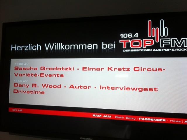 Radio-Gast bei TOP FM