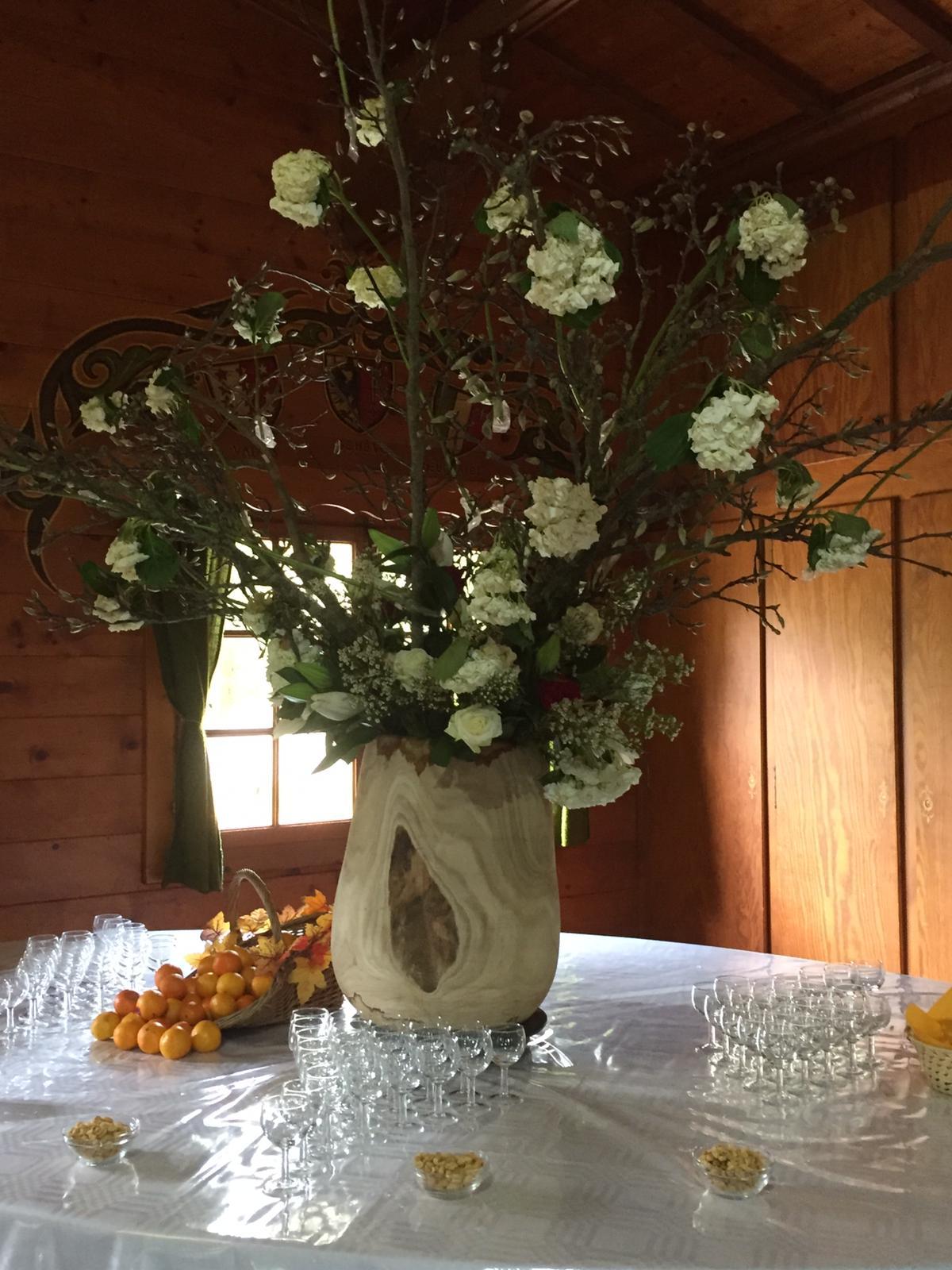 Le vase en bois