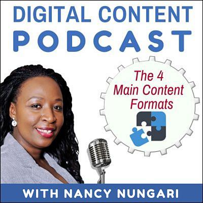 The 4 Main Digital Content Formats