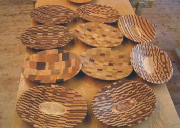 Buntes Holz, © Ladenbau Berschneider, Deining