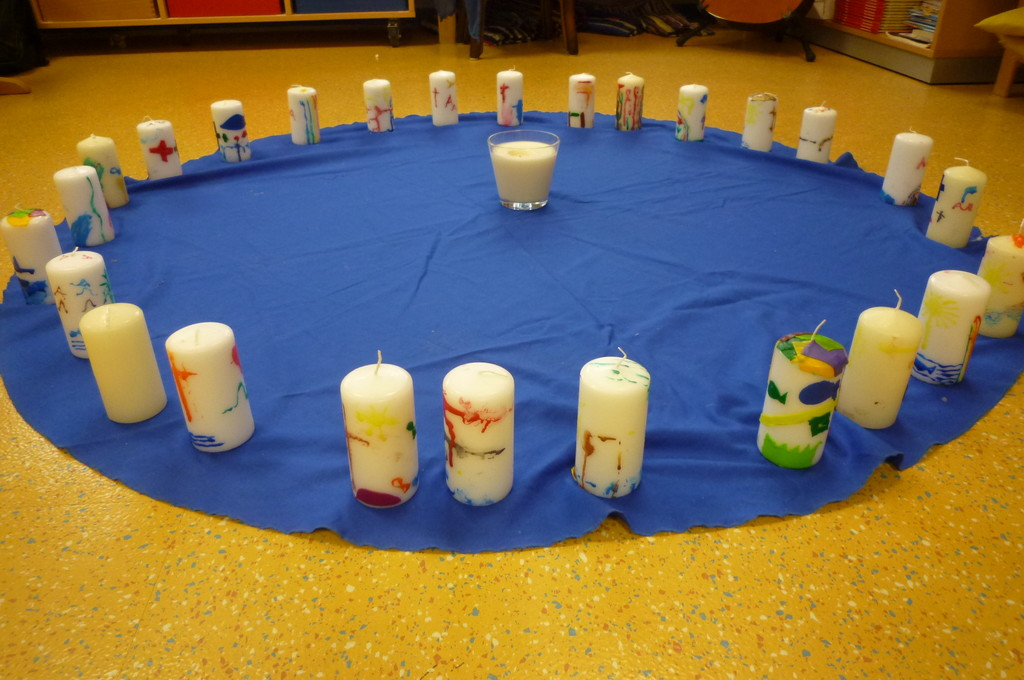 Alle unsere selbst gestalteten Kerzen