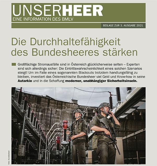 UNSER HEER - 3. Ausgabe 2021