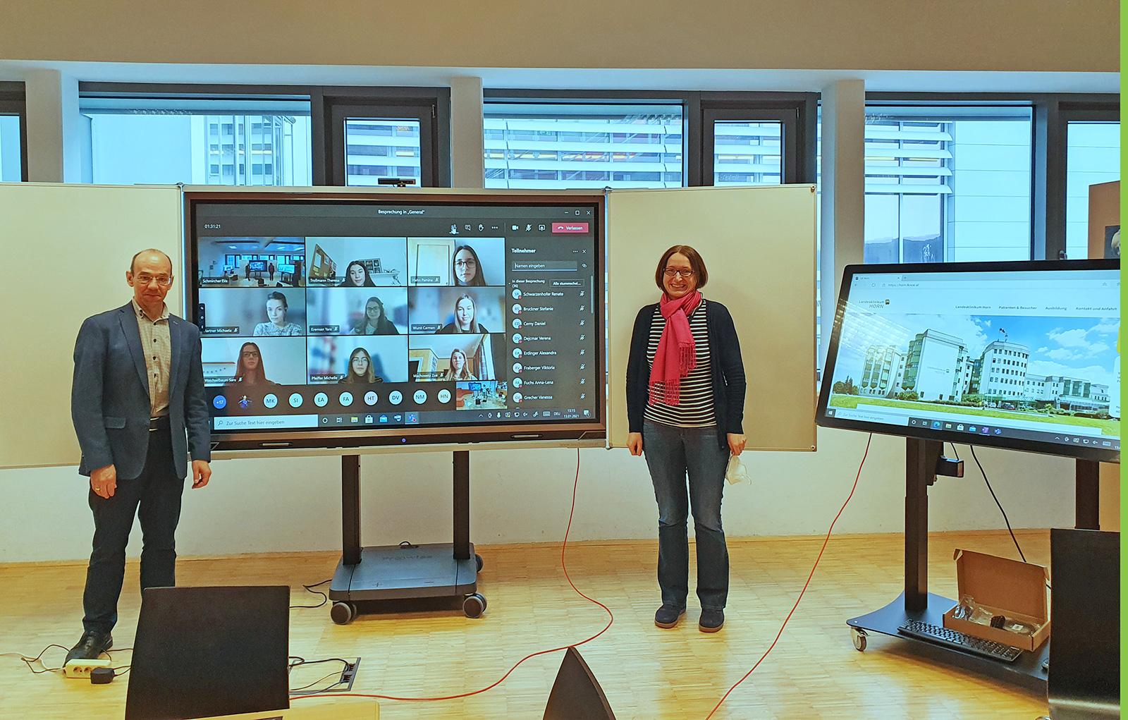 HAK/HAS Horn: Experte meets virtuelles Klassenzimmer