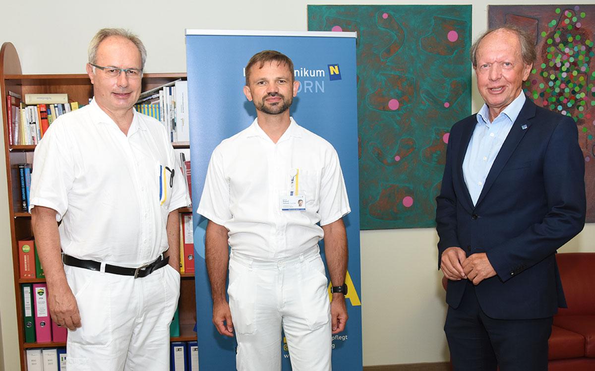 Erneut hohe Auszeichnung für Institutsleiter des Landesklinikums Horn