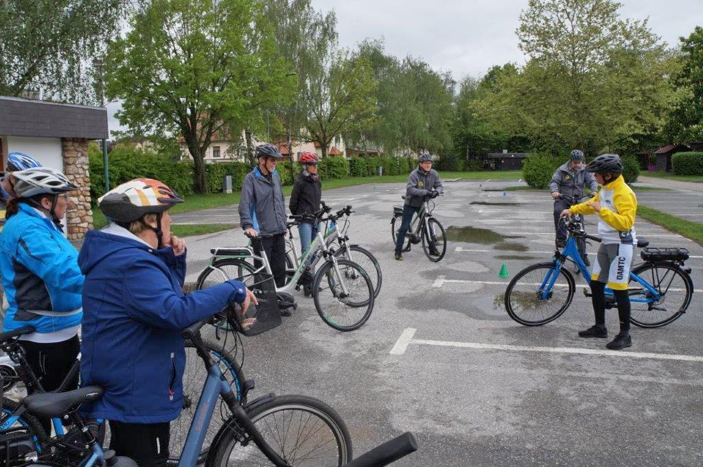ÖAMTC und Stadtgemeinde Horn sorgen für  Sicherheit am E-Bike