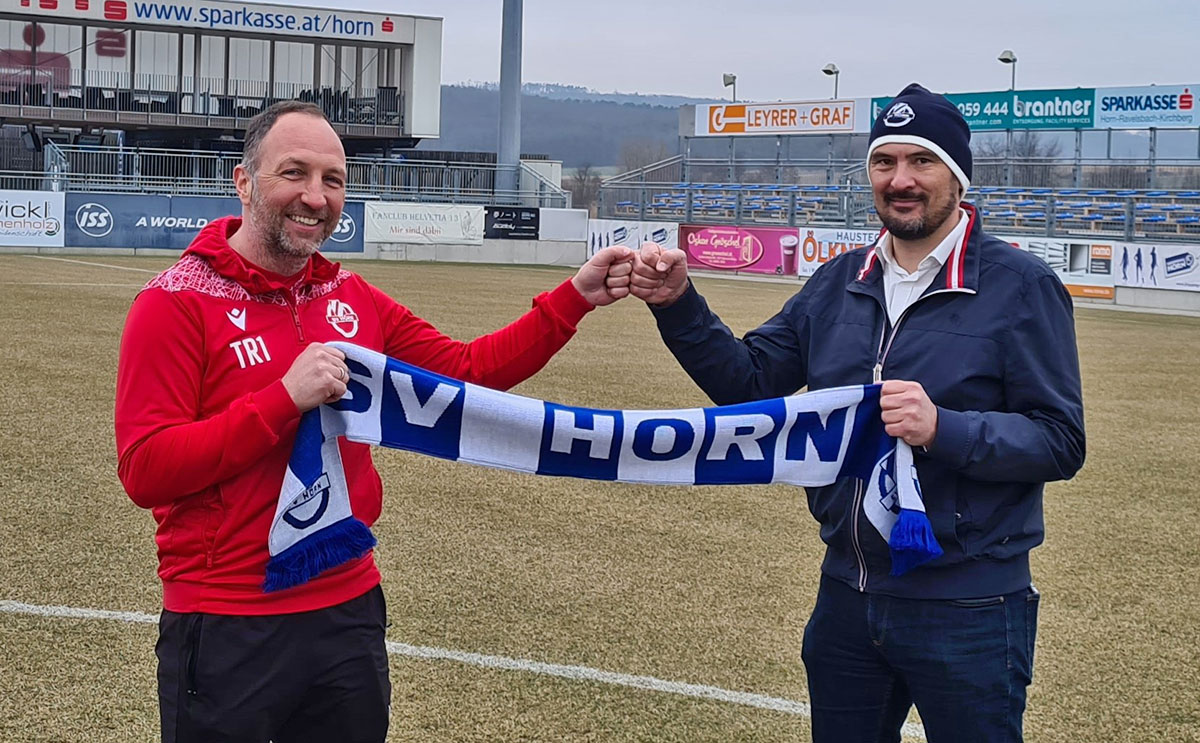 SV Horn verlängert mit Trainer Schriebl