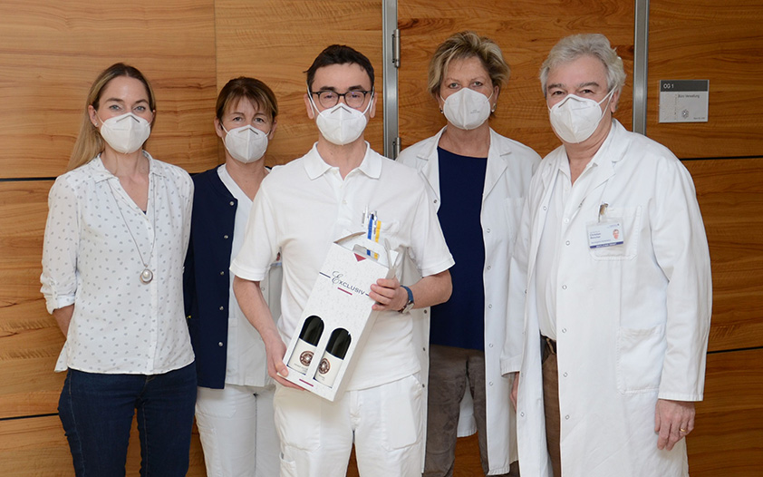 LK Horn-Allentsteig – OA Dr. Gröger hat nun Geriatrie-Diplom