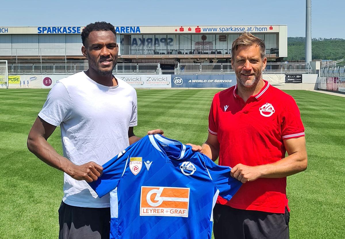 SV Horn verpflichtet mit Mohamed Camara neuen Stürmer