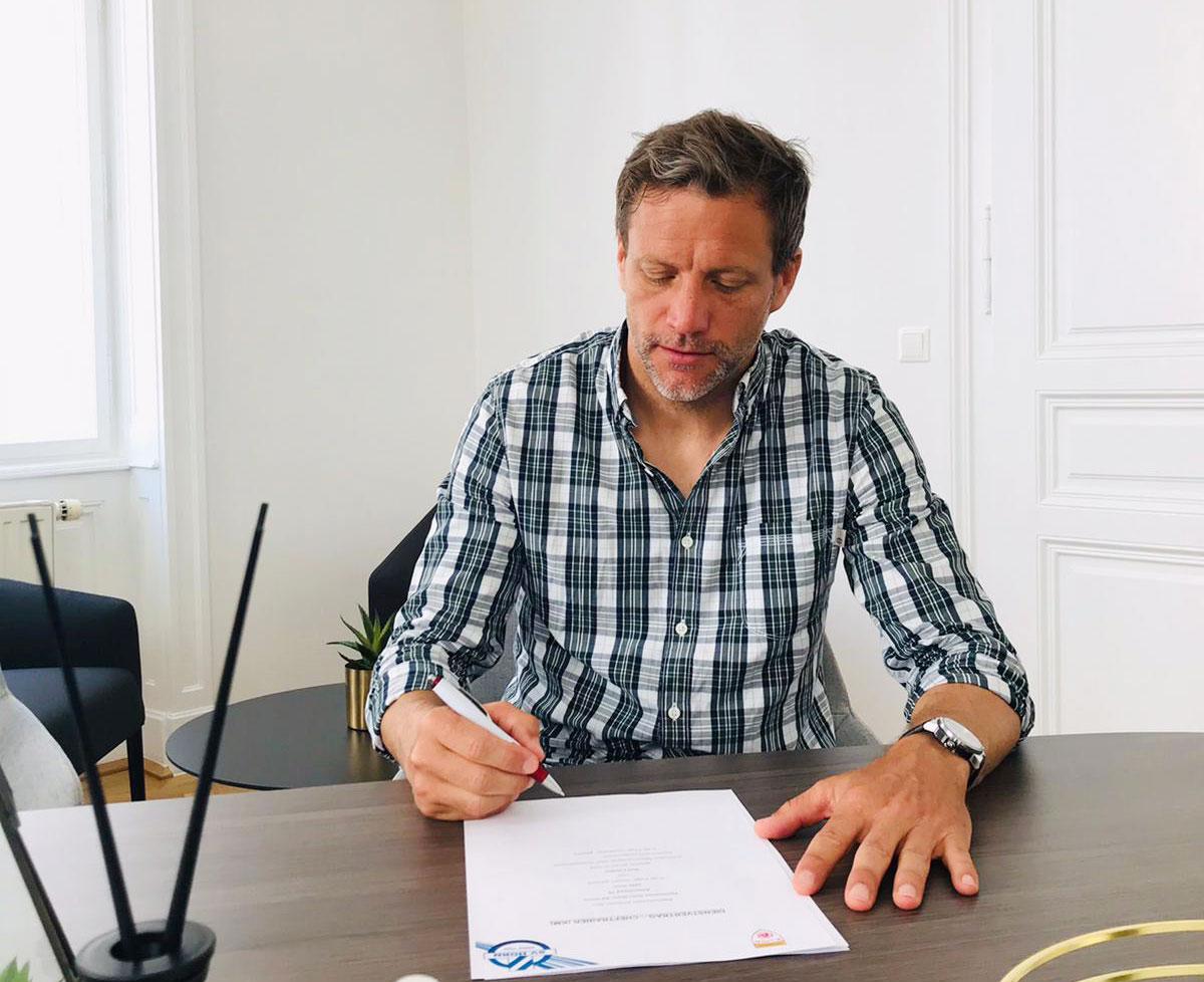 Rolf Landerl neuer Cheftrainer beim SV Horn