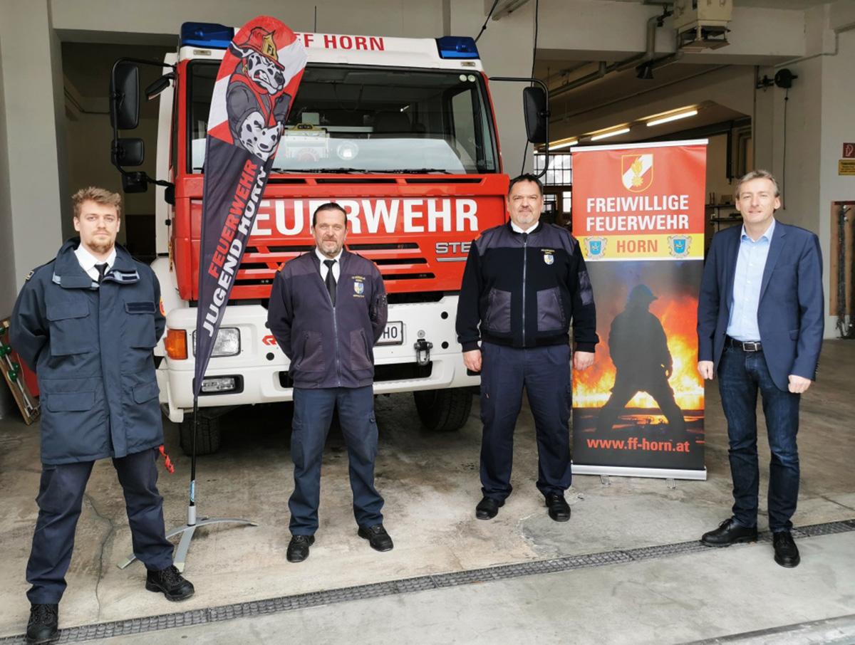 FF Horn: HBI Drlo wiedergewählt, Mario Schmutz neuer Oberverwalter