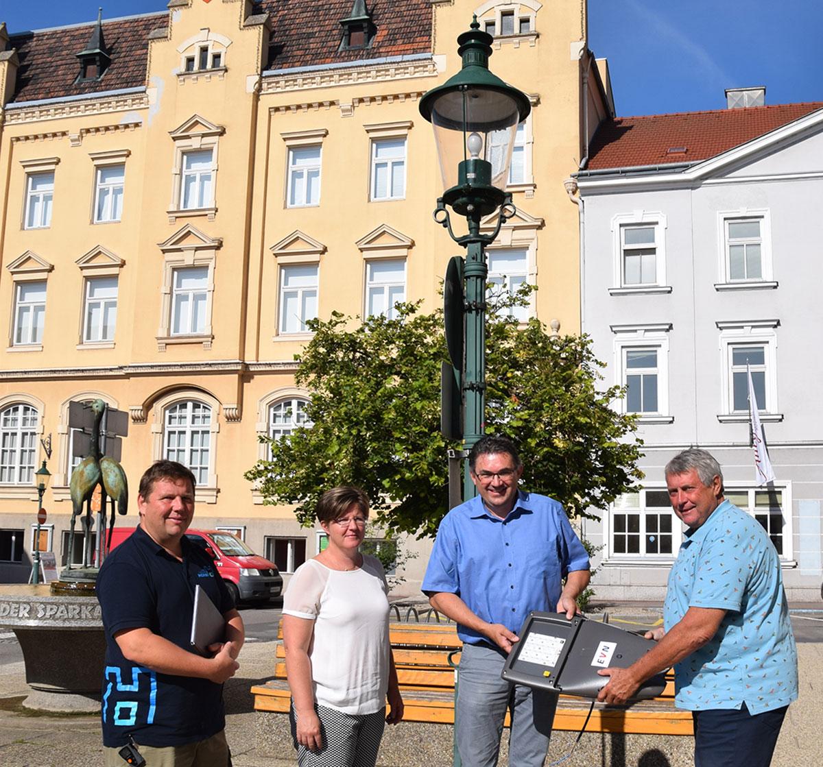Stadtgemeinde Horn spart 85.000 Euro pro Jahr durch Umrüstung auf LED