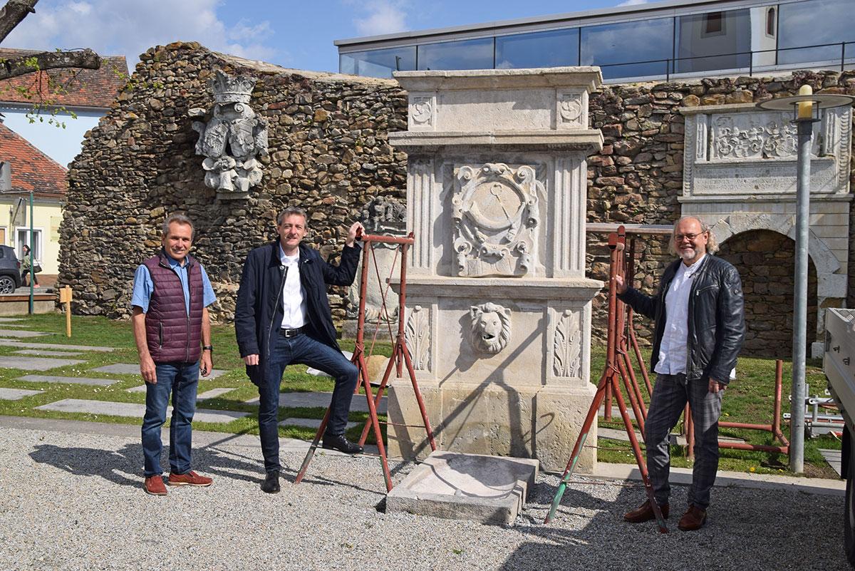 Restaurierung von Kulturdenkmälern im Museum Horn