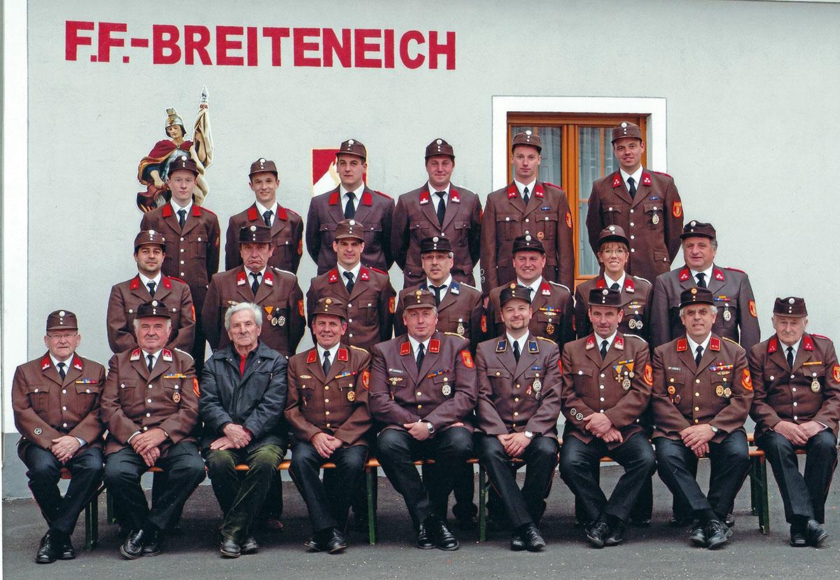 125 Jahre Freiwillige Feuerwehr  Breiteneich: Historische Splitter