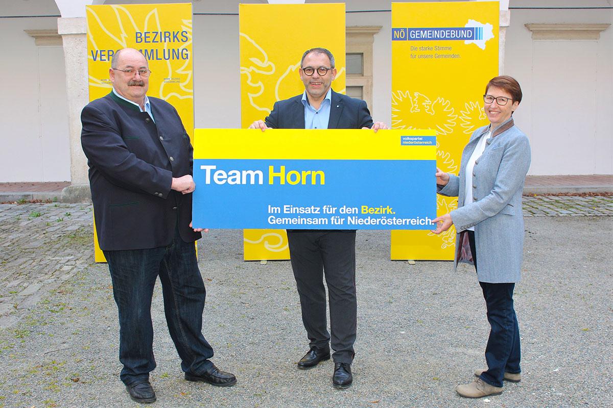 Bürgermeister Niko Reisel ist neuer Gemeindebundobmann im Bezirk Horn