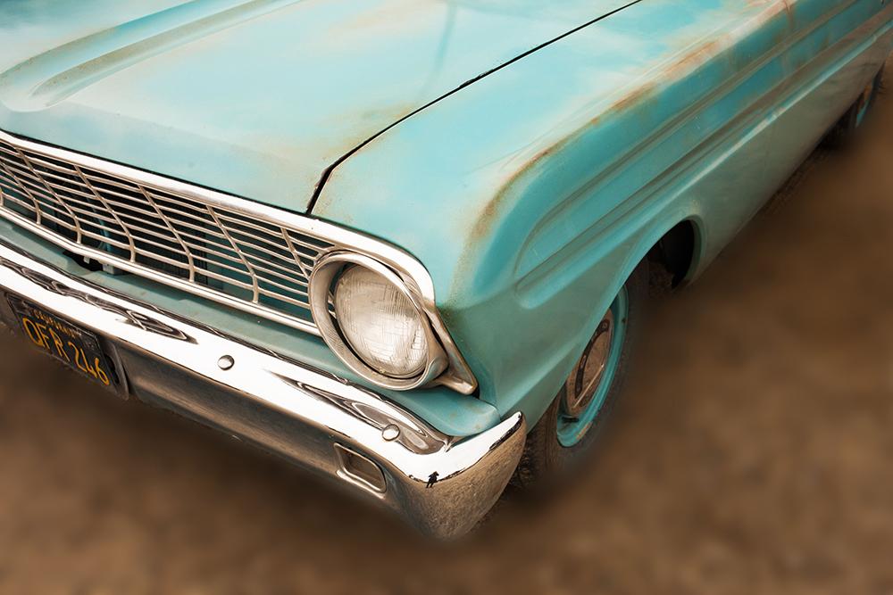 FOUR ACE vintage car